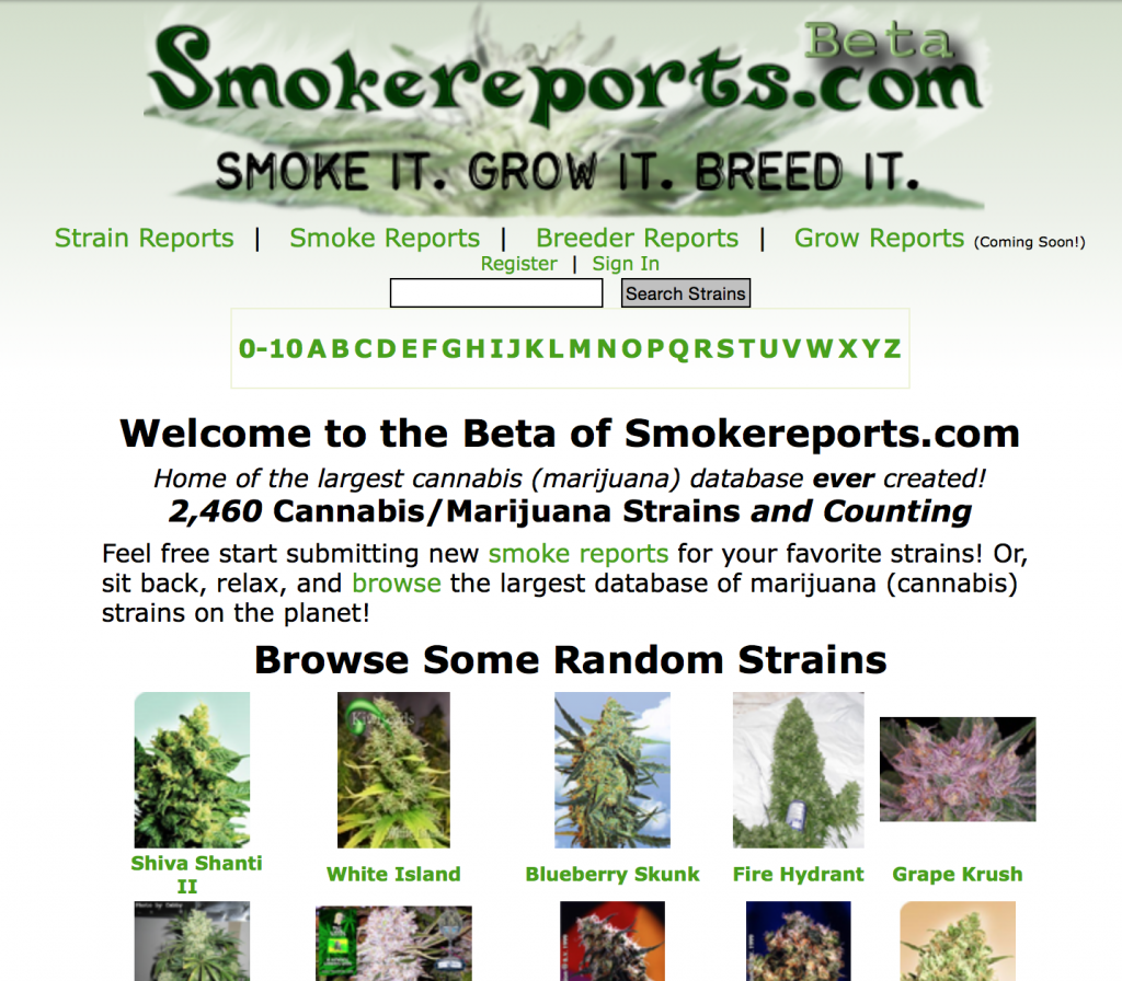 Smoke Reports in 2009 from Archive.org