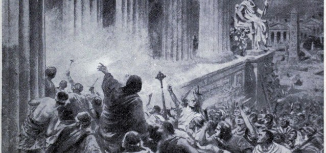 The Burning of the Library at Alexandria